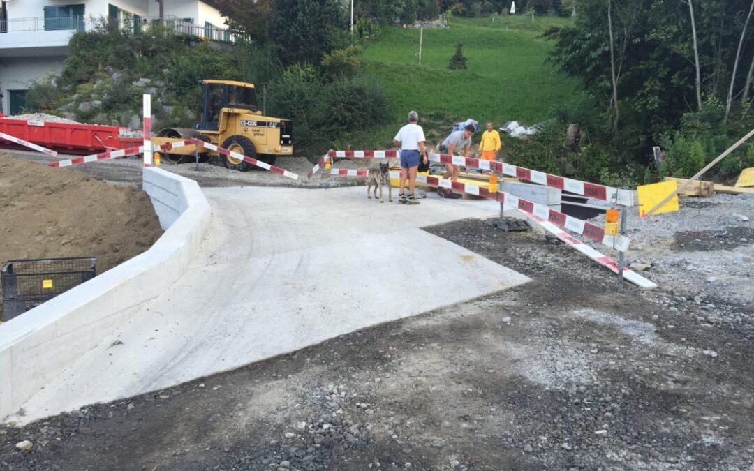 Strassenbau Hinterbergstrasse