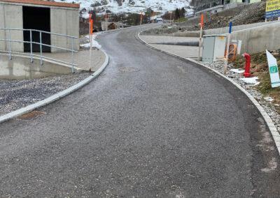 Strassenbau Obere Rütibügelstrasse
