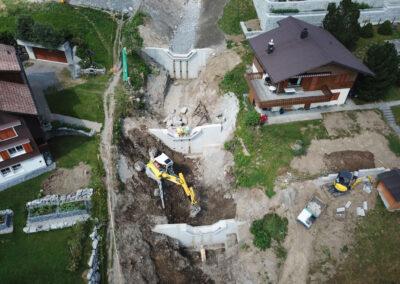 Sanierung Hänslibach, Amden